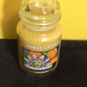 RARE Yankee Candle Wild Passion Fruit large candle